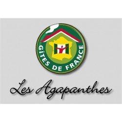 Plaque Chambre/Maison d'Hôtes avec logo à personnaliser
